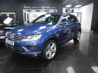2017 VOLKSWAGEN TOUAREG 3.0 V6 R-LINE PLUS TDI BLUEMOTION TECHNOLOGY 5d AUTO 259 BHP £31990.00