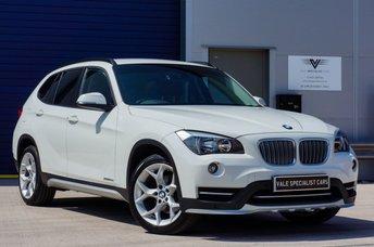 2014 BMW X1 2.0 XDRIVE20D XLINE 5d AUTO 181 BHP £15491.00