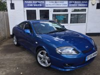 USED 2006 55 HYUNDAI S-COUPE 2.0 SE 3d AUTO 141 BHP UNIQUE OPPORTUNITY JUST 5,700 MILES ONE MATURE OWNER  EXC CONDITION