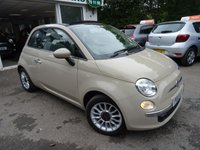 USED 2013 13 FIAT 500 1.2 CONVERTIBLE LOUNGE DUALOGIC 3d AUTOMATIC 69 BHP Full Service History + Just Serviced by ourselves, One Owner from new, MOT until May 2019, Convertible, Automatic, Great on fuel economy! Only £20 Road Tax!