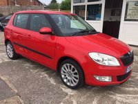 USED 2012 62 SKODA FABIA 1.2 ELEGANCE TSI 5d FULL COLOUR SAT NAV!!!!