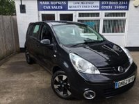 USED 2012 62 NISSAN NOTE 1.6 ACENTA 5d AUTO 110 BHP 58K ONE FAMILY  OWNER 1/2 LEATHER CRUISE BLUETOOTH EXC CONDITION