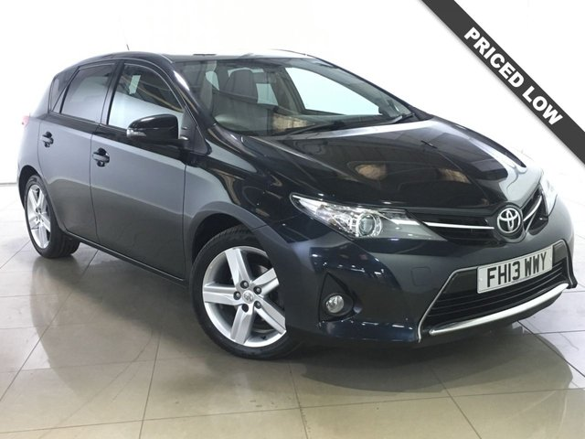 View our 2013 13 TOYOTA AURIS 1.6 SPORT VALVEMATIC 5d 130 BHP