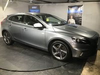 USED 2015 64 VOLVO V40 2.0 D4 R-DESIGN 5d 187 BHP ZERO Road tax   :   Bluetooth : DAB Radio    :    R-Design contrasting leather upholstery    :    R-Design steering wheel    : Fully stamped Volvo main dealer service history