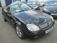 USED 1997 K MERCEDES-BENZ SLK CONVERTIBLE  SLK 230 KOMPRESSOR 2d  190 BHP 2.3