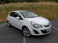USED 2014 14 VAUXHALL CORSA 1.2 EXCITE AC CDTI ECOFLEX 5d 74 BHP FULL SERVICE HISTORY, LOVELY CLEAN CAR
