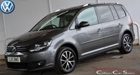 2015 VOLKSWAGEN TOURAN 2.0TDi BLUEMOTION TECHNOLOGY DSG AUTO 5 DOOR 7-SEATER 140 BHP £14990.00