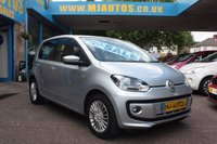 USED 2013 13 VOLKSWAGEN UP 1.0 HIGH UP 5dr 74 BHP IDEAL FIRST CAR | JUST GROUP 2 INSURANCE