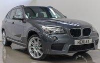 2014 BMW X1 2.0 XDRIVE18D M SPORT 5d AUTO 141 BHP £14490.00