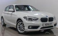 2015 BMW 1 SERIES 2.0 118D SE 5d AUTO 147 BHP £13490.00