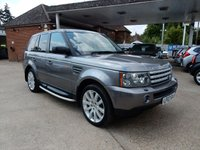 USED 2007 07 LAND ROVER RANGE ROVER SPORT 2.7 TDV6 SPORT HSE 5d AUTO 188 BHP SAT NAV,REAR DVD,HEATED SEATS,XENONS,SUNROOF,