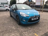 USED 2012 12 CITROEN DS3 1.6 DSTYLE PLUS 3d 120 BHP SERVICE HISTORY-CLIMATE CONTROL-PETROL-ALLOY WHEELS-CRUISE CONTROL