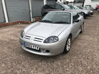USED 2002 52 MG TF 1.6 115 2d 114 BHP LOW MILEAGE-MOT TILL 16/04/19-CONVERTIBLE-HALF LEATHER