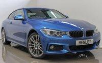 2015 BMW 4 SERIES 2.0 420I XDRIVE M SPORT 2d AUTO 181 BHP £18490.00