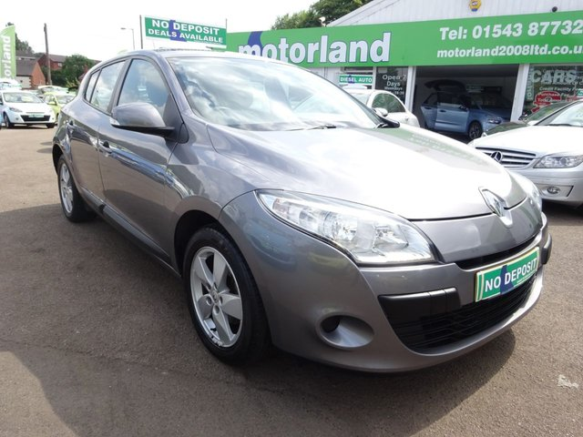 USED 2009 09 RENAULT MEGANE 1.6 EXPRESSION VVT 5d 100 BHP £0 DEPOSIT FINANCE DEALS AVAILABLE....TEST DRIVE TODAY CALL 01543 877320
