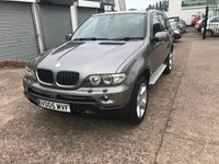 USED 2005 05 BMW X5 3.0 D SPORT 5d AUTO 215 BHP 8 SERVICE STAMPS-LEATHER-AUTO-DRIVES WELL