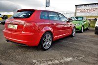 USED 2008 58 AUDI A3 2.0 TDI S LINE 5DR 138 BHP *** PX TO CLEAR - FULL LEATHER ***