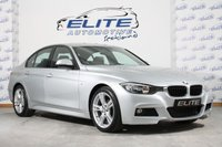 USED 2014 14 BMW 3 SERIES 2.0 318D M SPORT 4d AUTO 141 BHP FULL HISTORY/LOW MILES/LEATHER