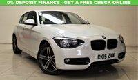 USED 2015 15 BMW 1 SERIES 2.0 120D SPORT 5d 181 BHP