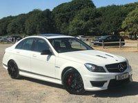 2014 MERCEDES-BENZ C CLASS 6.2 C63 AMG EDITION 4d AUTO 507 BHP £40000.00