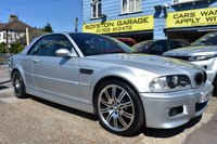 USED 2006 BMW M3  M3 3.2 CONVERTIBLE AUTO PADDLE SHIFT COMES WITH 6 MONTHS WARRANTY
