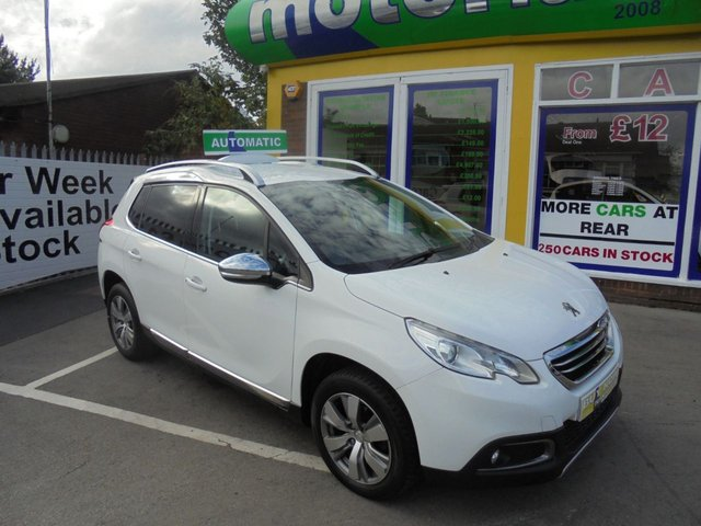 USED 2013 63 PEUGEOT 2008 1.2 ALLURE 5d 82 BHP 1 PRIVATE OWNER FROM NEW....FULL SERVICE HISTORY....TEST DRIVE TODAY CALL 01543 877320