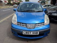 USED 2007 07 NISSAN NOTE 1.4 SE 5d 87 BHP