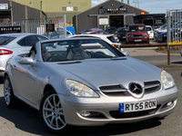 USED 2005 55 MERCEDES-BENZ SLK 3.5 SLK350 2d 269 BHP *GREAT SPEC AND PERFORMANCE!*
