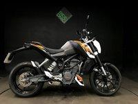 2015 KTM DUKE 125. ABS. 2015. FSH. 5774 MILES. TIDY BIKE. HPI CLEAR £2700.00