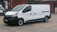 2015 VAUXHALL VIVARO 1.6 2900 L2H1 CDTI P/V 1d 114 BHP 1 OWNER F/S/H 2 KEYS  FREE 12 MONTHS WARRANTY COVER // £7190.00