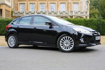 2012 FORD FOCUS 1.6 TITANIUM X TDCI 5d 113 BHP £5480.00