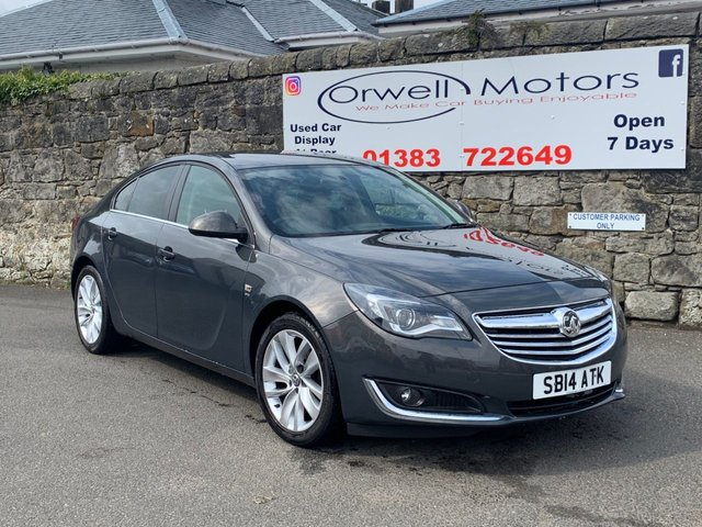 USED 2014 14 VAUXHALL INSIGNIA 1.8 SRI 5d 138 BHP TWO OWNERS+FULL SERVICE HISTORY+FINANCE AVAILABLE