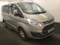 2014 FORD TOURNEO CUSTOM 2.2 300 LIMITED TDCI 5d 124 BHP £17995.00