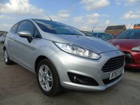 2014 FORD FIESTA 1.2 ZETEC 3d 81 BHP FULL SERVICE LOW MILES 2 YEARS WARRANTY £4995.00