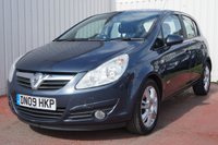 USED 2009 09 VAUXHALL CORSA 1.4 DESIGN 16V 5d 90 BHP SERVICE HISTORY
