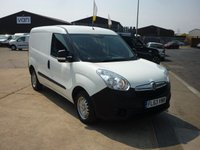 USED 2013 63 VAUXHALL COMBO 1.3CDTi  2000 L1 H1  S/S ECOFLEX  90 BHP FINANCE AVAILABLE