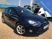 USED 2011 61 FORD FOCUS 1.6 ZETEC 5d 125 BHP 5 Door petrol, with parking sensors and bluetooth