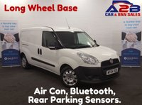 USED 2014 64 FIAT DOBLO 1.6 16V MULTIJET 105 BHP Long Wheel Base, Air Con, Bluetooth Connectivity, 2 Sliding doors, 4.9 % Low Rate Finance Available **Drive Away Today** Over The Phone Low Rate Finance Available, Just Call us on 01709 866668