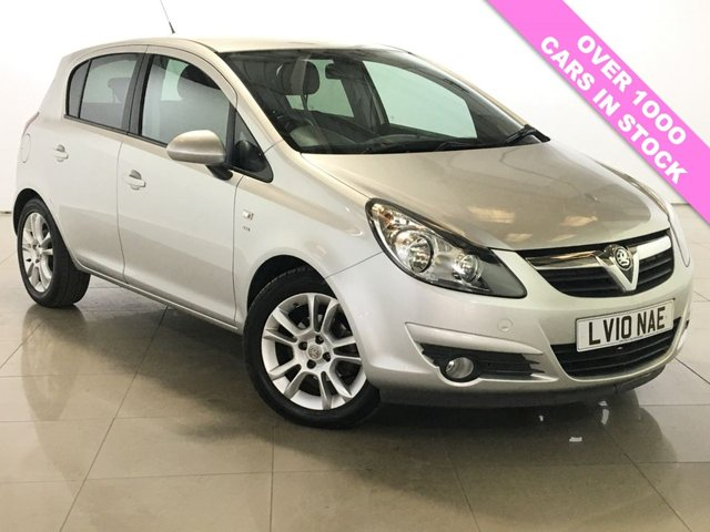 View our 2010 10 VAUXHALL CORSA 1.4 SXI A/C 5d 98 BHP