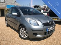 USED 2008 58 TOYOTA YARIS 1.3 TR VVTI 5d 86 BHP Low Mileage 5 door petrol with FSH (9 STAMPS)