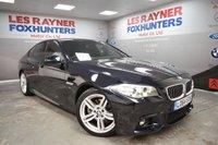 2014 BMW 5 SERIES 2.0 520D M SPORT 4d AUTO 188 BHP £15999.00