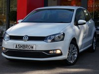 USED 2014 64 VOLKSWAGEN POLO 1.0 SE 3d 60 S/S UPGRADE SAT NAV, UPGRADE 15 INCH SPOKANE ALLOYS, UPGRADE FRONT & REAR PARKING SENSORS WITH DISPLAY (PARK PILOT), UPGRADE ELECTRONIC CRUISE CONTROL SYSTEM, BLUETOOTH PHONE & MUSIC STREAMING, DAB RADIO, AUX & USB, LEATHER FLAT BOTTOM MULTIFUNCTION STEERING WHEEL, AIR CONDITIONING, CD HIFI WITH 2x SD CARD READERS, ELECTRIC WINDOWS, ELECTRIC HEATED DOOR MIRRORS, ILLUMINATING VANITY MIRRORS, TYRE PRESSURE MONITORING SYSTEM, FULL SERVICE HISTORY, 1 OWNER FROM NEW, £20 ROAD TAX