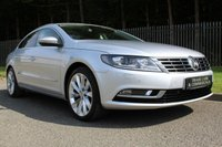 USED 2012 62 VOLKSWAGEN CC 2.0 GT TDI BLUEMOTION TECHNOLOGY DSG 4d AUTO 168 BHP A STUNNING HIGH SPEC CAR, 170BHP, FULL LEATHER, SAT NAV, DAB AND MORE!!!