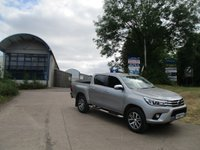 USED 2016 66 TOYOTA HI-LUX 2.4 INVINCIBLE 4WD D-4D DCB 1d AUTO 148 BHP NEW SHAPE hilux 4x4 crew cab / double cab pick up  new shape Toyota warranty applies 14,000 miles full service