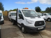 2016 FORD TRANSIT 2.2 350 SINGLE CAB 1 STOP TIPPER TIPPER 125 BHP  £17250.00