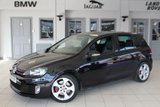 USED 2011 60 VOLKSWAGEN GOLF 2.0 GTI DSG 5d 210 BHP FULL BLACK LEATHER SEATS + FULL VW SERVICE HISTORY + SATELLITE NAVIGATION + BLUETOOTH + 17 INCH ALLOYS + PARK ASSIST + HEATED FRONT SEATS + CRUISE CONTROL + PARKING SENSORS + AIR CONDITIONING