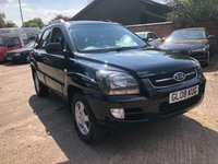 USED 2008 08 KIA SPORTAGE 2.0 XS CRDI 5dr 139 BHP Full Leather, Towbar with twin electrics.