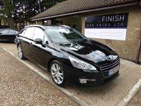 2012 PEUGEOT 508 2.0 ALLURE SW HDI FAP 5d 163 BHP £5995.00