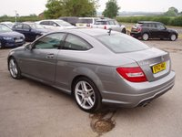 USED 2012 62 MERCEDES-BENZ C-CLASS 2.1 C250 CDI BLUEEFFICIENCY AMG SPORT 2d AUTO 204 BHP
