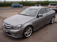 2012 MERCEDES-BENZ C CLASS 2.1 C250 CDI BLUEEFFICIENCY AMG SPORT 2d AUTO 204 BHP £12995.00